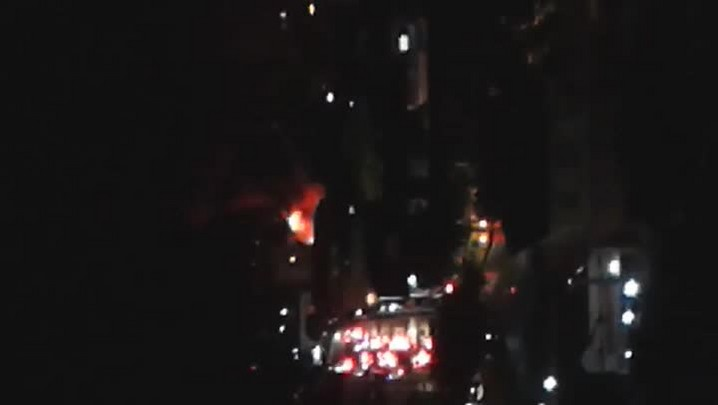 Incêndio atinge loja no Centro de Joinville
