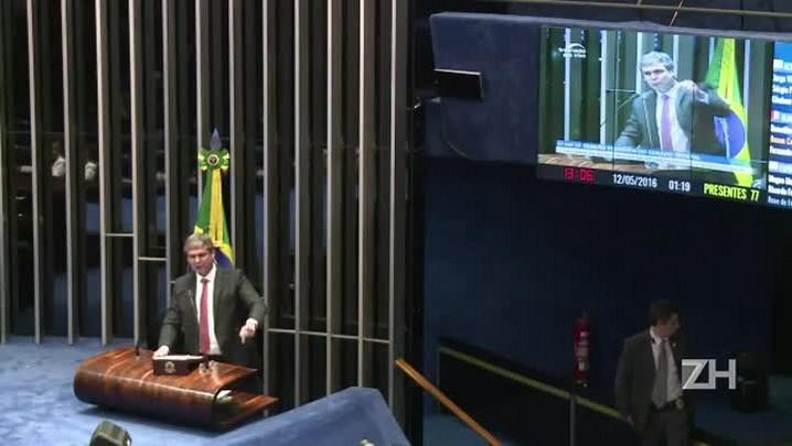 Dilma Rousseff é afastada do poder