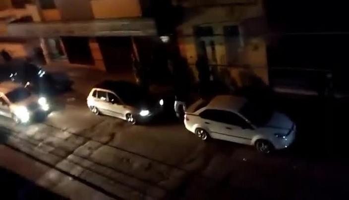 Briga generalizada em frente à nova casa noturna de Santa Maria