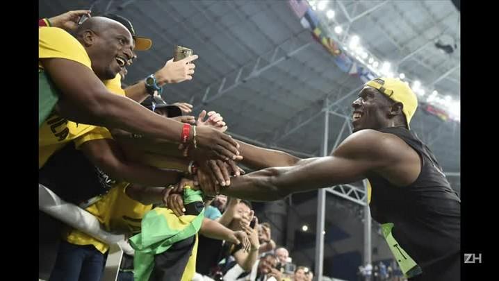 Bolt consegue tri inédito nos 100 metros