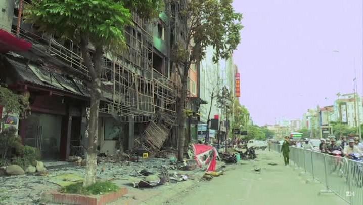 Incêndio deixa 13 mortos em karaokê no Vietnã
