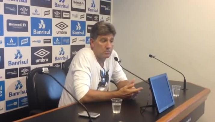 Renato projeta primeira partida da final da Copa do Brasil contra o Atlético-MG