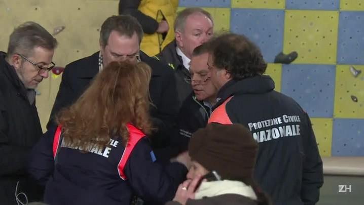 Encontrados sobreviventes de avalanche na Itália