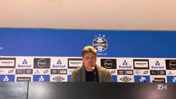 Renato avalia jogo contra o Atlético-PR