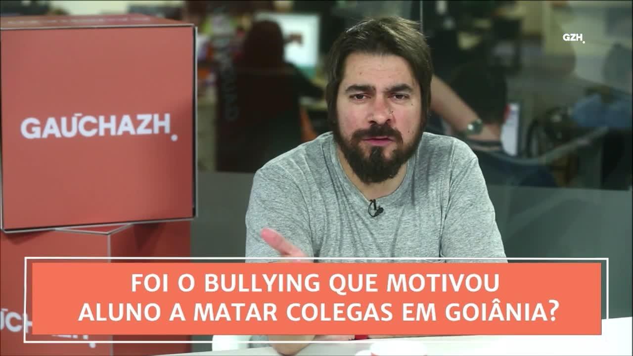 Conexão GaúchaZH: foi o bullyng que motivou alunos a matar colegas em Goiânia?