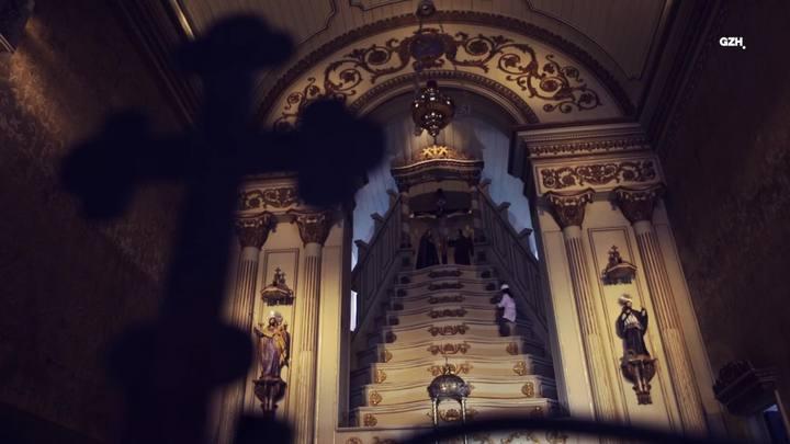 Últimos retoques na Igreja das Dores
