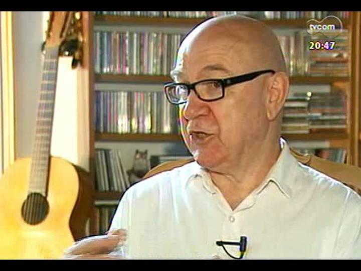 TVCOM Tudo Mais - Depoimentos de fãs ilustres para homenagear o beatle George Harrison - Juarez Fonseca