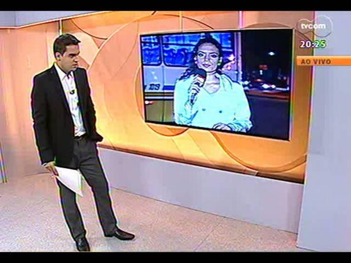 TVCOM 20 Horas - Informações sobre assalto que terminou em morte na Capital - Bloco 3 - 12/03/2013