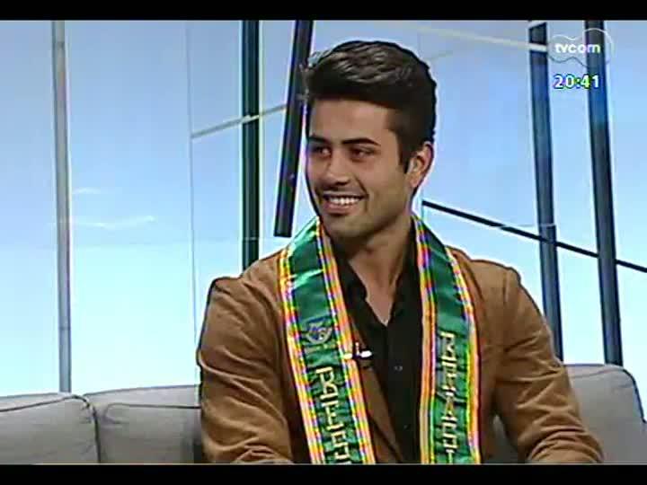 TVCOM Tudo Mais - Bate-papo com o árbitro que ficou em 5º lugar no concurso Mister Brasil 2013