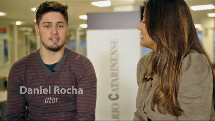 Entrevista com o ator Daniel Rocha