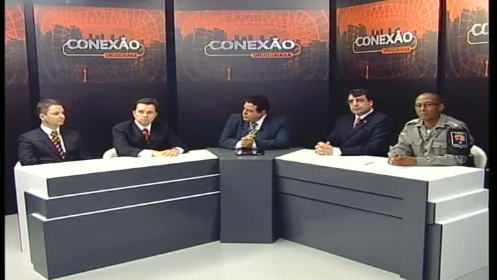 Conexão Uruguaiana discute a criminalidade, sua origem e os problemas de segurança pública na cidade - bloco 2