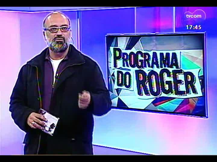 Programa do Roger - Entrevista e apresentação da cantora e compositora Babi Mendes - bloco 1 - 31/05/2013