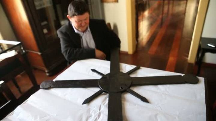 Em busca da cruz Missioneira