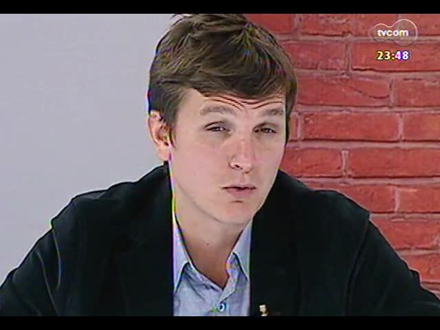 Mãos e Mentes - Empresário Andreas Renner Mentz, diretor executivo da Spirito Santo - Bloco 2 - 30/09/2013