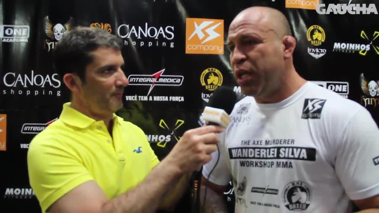 Trocação Pura - Wanderlei Silva realiza evento em Canoas - 18/10/2013