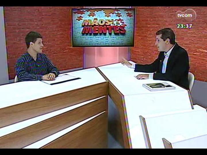 Mãos e Mentes - Médico do esporte Ricardo Stein - Bloco 1 - 27/11/2013