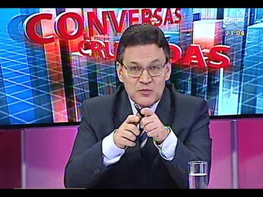Conversas Cruzadas - Será que as autoridades brasileiras superestimaram os efeitos de uma Copa do Mundo? - Bloco 4 - 07/01/2014