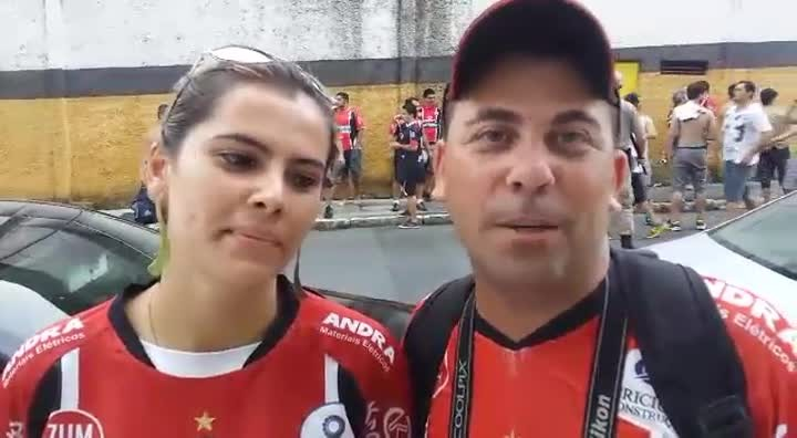Torcedor analisa empate do JEC
