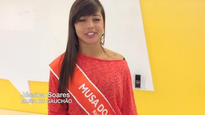 Jéssica Soares, musa do Brasil de Pelotas e vencedora do Desafio das Musas da Gaúcha