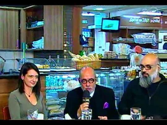 Café TVCOM - Conversa sobre literatura, diretamente da Mercopan - Bloco 3 - 31/05/2014