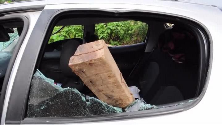 Video de veículos que participaram de assalto na zona Sul de Joinville
