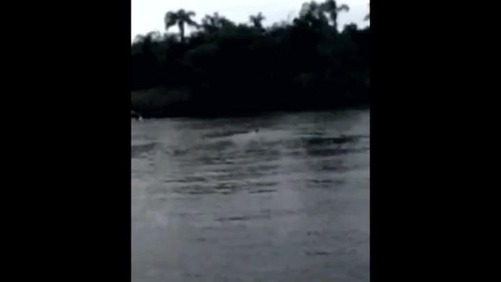 Segundo vídeo mostra socorro às vítimas de batida entre lanchas