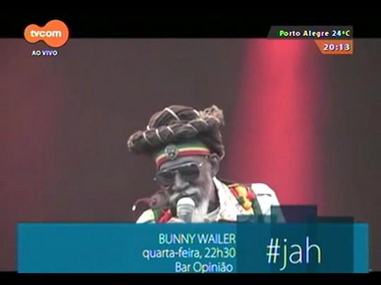 #PortoA - Bunny Wailer faz show no Bar Opinião em Porto Alegre