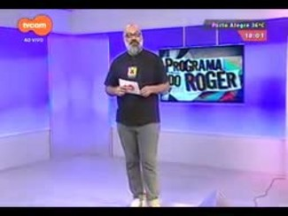 Programa do Roger - Lojinha do Roger - Bloco 2 - 08/12/2014