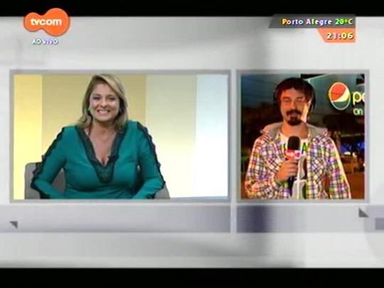 TVCOM Tudo Mais - Lúcio Brancato fala direto do Pepsi On Stage sobre o show de Kooks e Kasabian