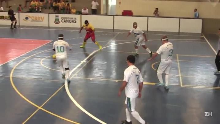 Campeonato de futebol para cegos