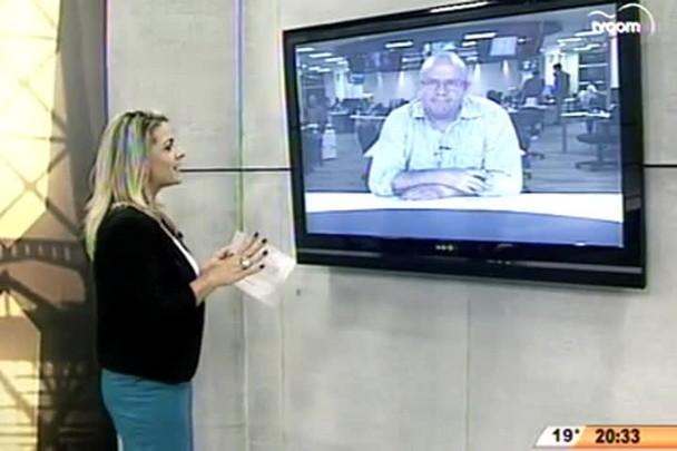 """TVCOM 20 Horas - Vice-governador, Eduardo Pinho Moreira, declarou em entrevista que \""""não mando nada nesse governo, sou periférico\"""" - 30.04.15"""