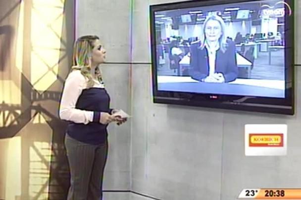 TVCOM 20 Horas - Exportações catarinenses caem 9% de janeiro a maio - 08.06.15