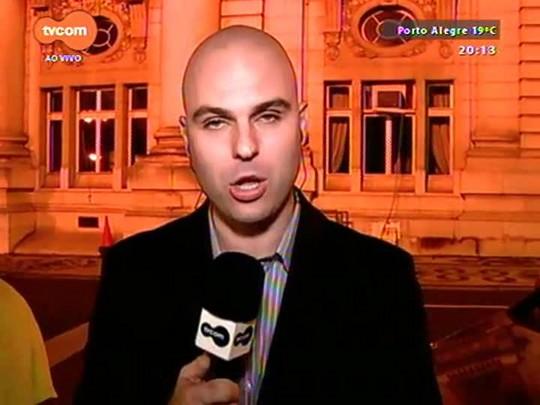 TVCOM 20 Horas - Funcionalismo estadual paralisa atividades por três dias contra o parcelamento dos salários - 18/08/2015