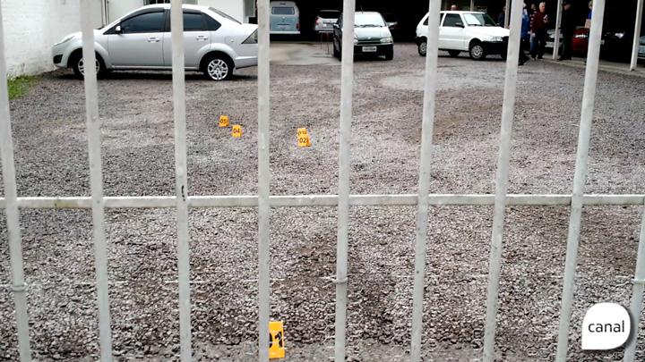Veja a movimentação após tiroteio na Rua Sinimbu, em Caxias do Sul