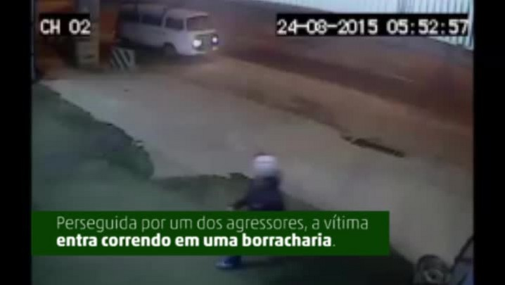 Crime na borracharia