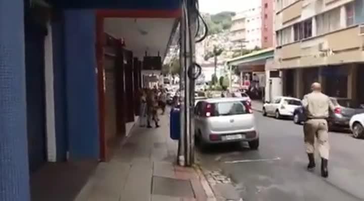 Incêndio na Rua Anita Garibaldi