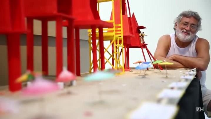 Exposição recupera a história das casinhas de salva-vidas no Litoral gaúcho