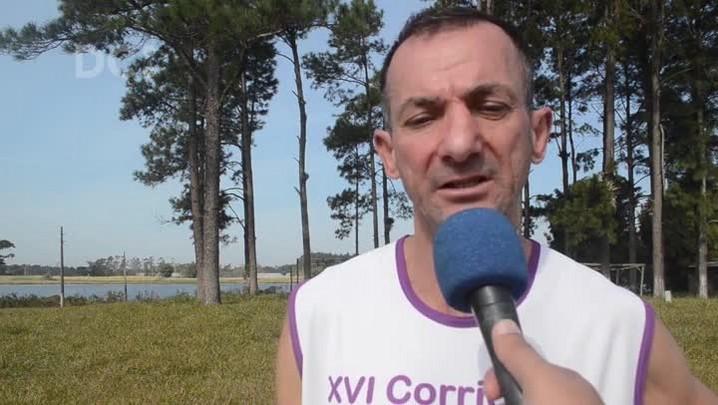 Marceneiro Darci da Silva fez da corrida a sua paixão