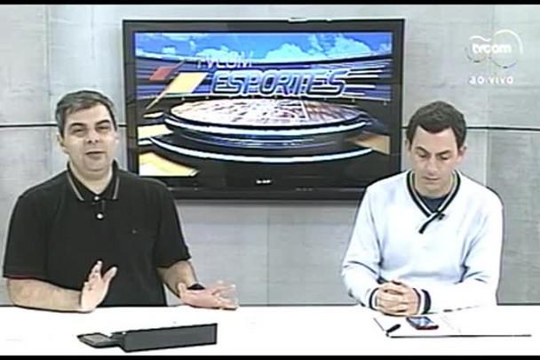 TVCOM Esportes. 3º Bloco. 03.08.16
