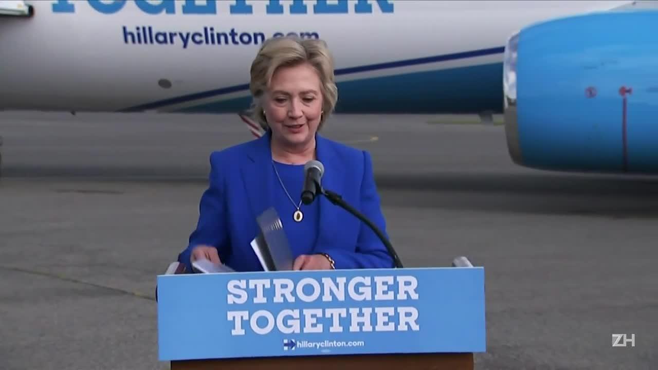 Hillary Clinton: é assustador que Trump prefira Putin