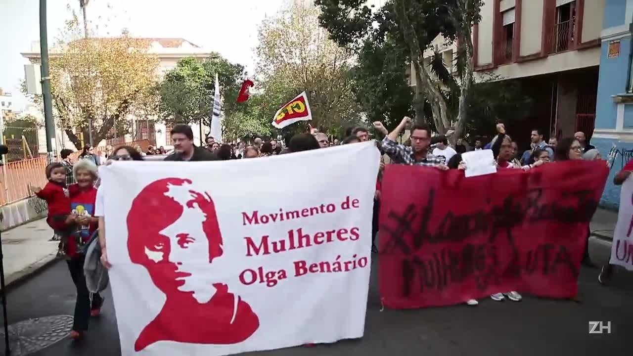 Movimentos sociais protestam contra desocupação de prédio na Capital