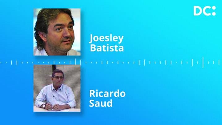 Joesley e Ricardo Saud citam Raimundo Colombo em conversa