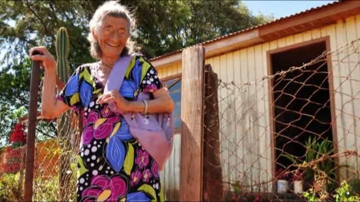 Dona Benta, aprendiz aos 94 anos