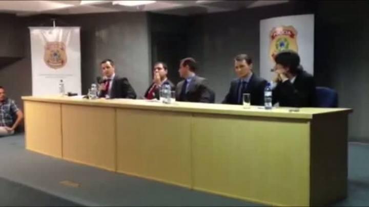 Confira trechos da entrevista coletiva sobre a Operação Concature feita pela PF