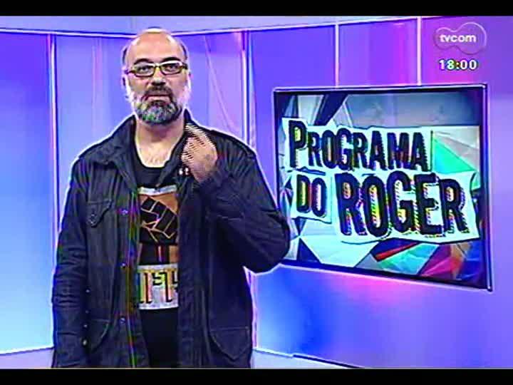 Programa do Roger - Cantora Andrea Cavalheiro produz 1º disco solo - bloco 2 - 07/05/2013