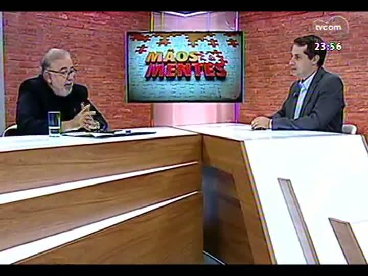 Mãos e Mentes - Professor Cláudio Moreno - Bloco 3 - 10/05/2013