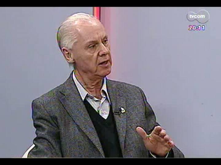 TVCOM 20 Horas - Entrevista com o novo presidente da Famurs, Valdir Andres - Bloco 2 - 23/05/2013