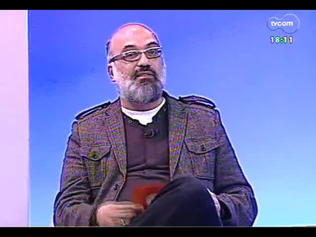 Programa do Roger - Artista visual Felipe Cretella fala sobre exposição \'Um novo horizonte\' - bloco 3 - 25/09/2013