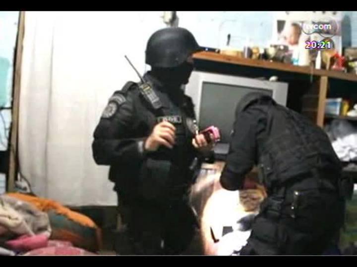 TVCOM 20 Horas - Delegado fala da operação que desarticulou uma quadrilha, na Capital - Bloco 3 - 10/10/2013