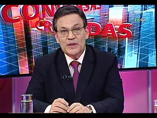 Conversas Cruzadas - Debate sobre lei que estabelece cobrança única de tarifa para veículos que passarem mais de uma vez no mesmo dia no pedágio - Bloco 1 - 21/03/2014